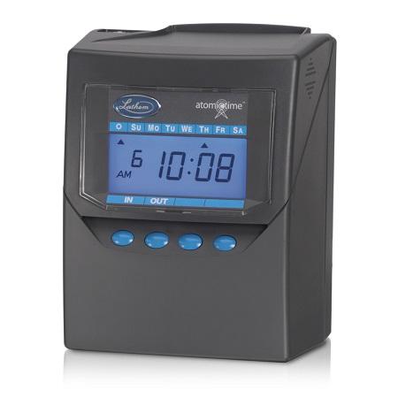 lathem 7500e calculating atomic time clock