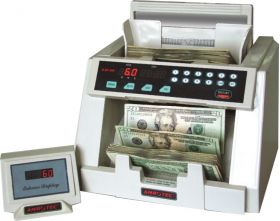 Money Counter with Counterfeit Detection