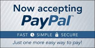 Now Pay With PAYPAL