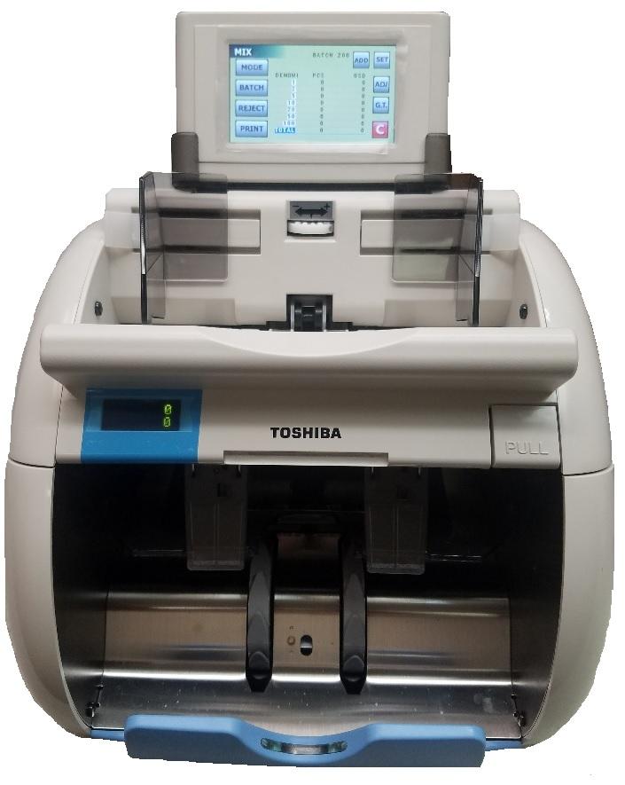 Toshiba IBS-210 Discriminator value counters