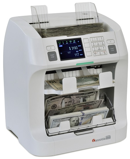 Cassida Zeus Currency Discriminator Counter