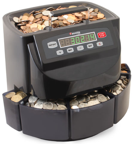 Coin Counter Sorter