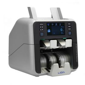 LIDIX ML-V1 Single CIS Unit Currency Discriminator Bank Level high-performance, high-speed & heavy-duty with Counting Speed 1,200 to 1,500 notes/min Counterfeit Detections CIS, MG, UV, MT, IR, F